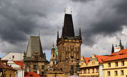 Brücke Prag-Charles lizenzfreie stockfotos