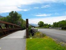 Brücke in Provo, UT Lizenzfreie Stockbilder