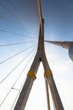 Brücke Rama 8. Lizenzfreie Stockfotos