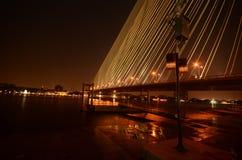 Brücke, Rama 8 Brücke Stockfotografie