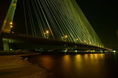 Brücke, Rama 8 Brücke Stockfoto