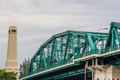 Brücke Rama VI Stockfotografie