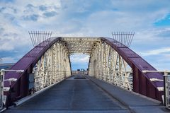 Brücke in Ramsey stockbilder