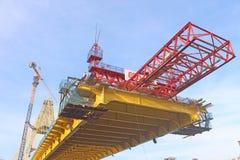 Brücke Riau IV in Pekanbaru stockbilder
