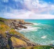 Brücke in a südwestlich Irlands lizenzfreie stockfotos