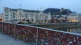 Brücke Salzburg Lizenzfreies Stockbild