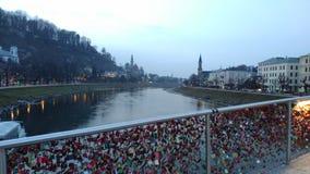 Brücke Salzburg Stockbilder