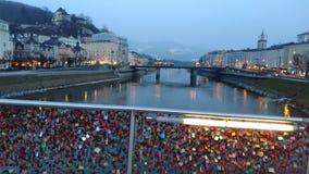 Brücke Salzburg Stockbild