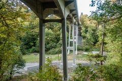 Brücke an Salzwasser-Park 2 lizenzfreies stockbild