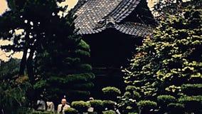 Brücke Sans Francisco Japanese stock video footage
