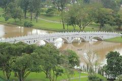 Brücke in Singapur Lizenzfreies Stockfoto