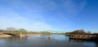 Brücke St. Francisville Stockbild