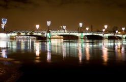 Brücke in St Petersburg Stockbild