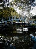 Brücke in Stadt São Lourenço Lizenzfreies Stockbild