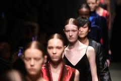 Brücke Sudi Etuz in Mercedes-Benz Fashion Week Istanbul Stockbilder