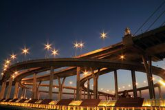 Brücke in Thailand Lizenzfreies Stockfoto