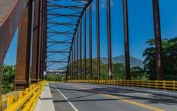 Brücke in Tocaima Lizenzfreie Stockfotografie