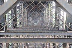 Brücke Truss1 Stockfotografie