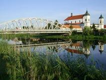 Brücke in Tykocin stockfotos