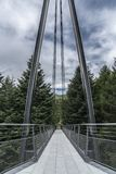 Brücke und Himmel Lizenzfreie Stockfotos