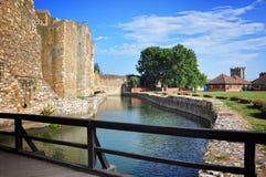 Brücke und Kanal stockbild