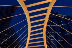 Brücke und Kontrollturm Stockfotografie