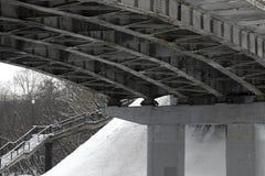 Brücke und Leiter Stockfotos