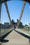 Brücke und Schloss Lizenzfreie Stockbilder