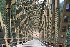 Brücke und Technikarchitekturwissenschaft Stockfotos