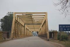 Brücke in Uruguay, Südamerika Lizenzfreie Stockfotografie