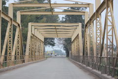 Brücke Uruguay, Südamerika Lizenzfreies Stockbild