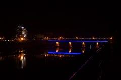 Brücke in Uzhgorod Lizenzfreie Stockbilder