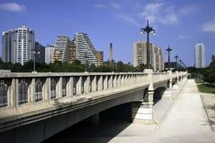 Brücke in Valencia Stockbilder