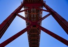 Brücke Vasco-De Gamma Stockbild