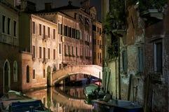Brücke in Venedig Stockfoto