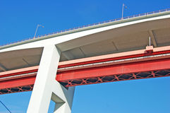 Brücke von 25. April Lizenzfreies Stockbild