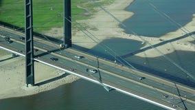 Brücke von der Spitze stock video