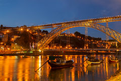 Brücke von Dom Luis, Portugal Stockfoto