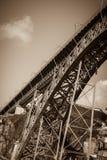 Brücke von Dom Luiz in Porto, Portugal Lizenzfreies Stockfoto