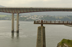 Brücke von DOS Santos in Ribadeo Lizenzfreies Stockfoto