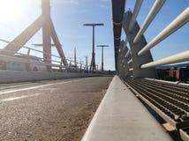 Brücke von einem anderen wiev lizenzfreie stockfotos