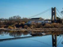 Brücke von Frankreich lizenzfreies stockfoto
