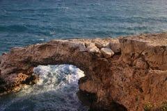 Brücke von Liebhabern in Agia Napa Lizenzfreie Stockbilder