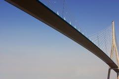Brücke von Normandie stockfotos