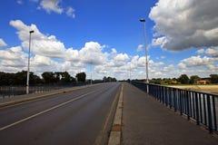 Brücke von Osijek, in Kroatien Lizenzfreies Stockfoto