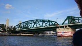 Brücke von Phra Phittayotfa Stockfotografie