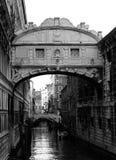 Brücke von Seufzern Stockbild
