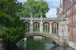 Brücke von Seufzern Lizenzfreies Stockfoto