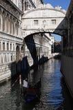 Brücke von Seufzern Lizenzfreie Stockfotografie