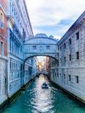 Brücke von Seufzern Stockfoto